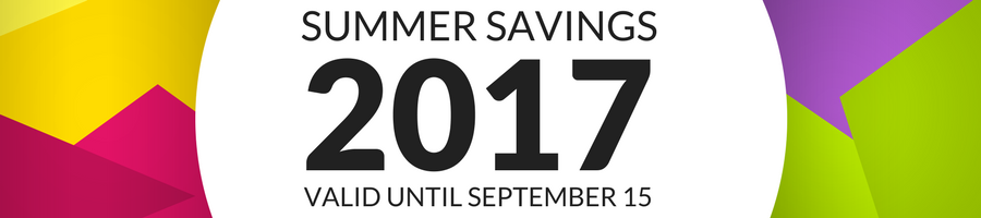Summer Savings 2017