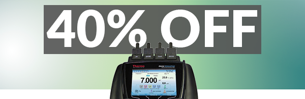 40% OFF - Thermo Orion pH meters, pH meter kits, and electrodes