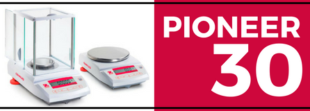 30% Off OHAUS Pioneer Plus Balances